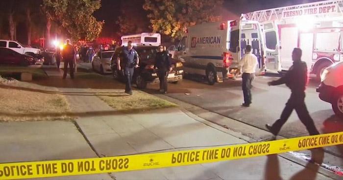 Cuatro muertos tras tiroteo durante fiesta en California, Estados Unidos