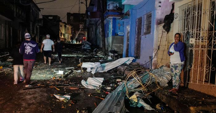 Tres muertos y más de 170 heridos por un fuerte tornado que azotó a Cuba