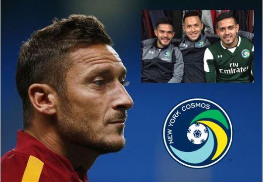 Francesco Totti podría recalar en el club donde juegan 3 salvadoreños