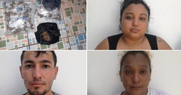 Traficantes de drogas capturados en Usulután