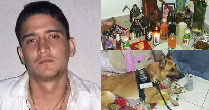 Encuentran altar de santería en vivienda vinculada al narcotráfico