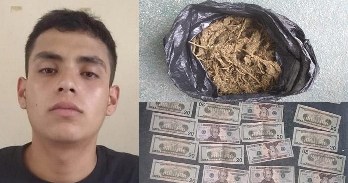 Capturan a traficante de drogas en Ilobasco
