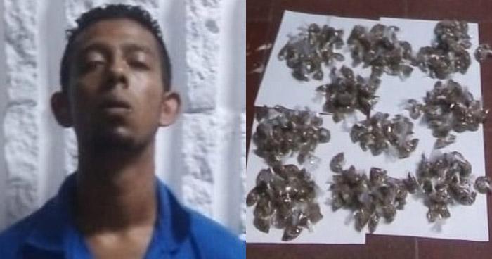 Capturan a distribuidor de drogas que operaba en Soyapango