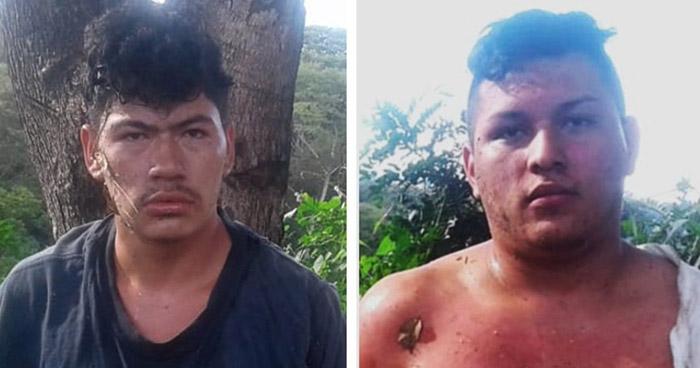 Dos traficantes de droga intentaron huir pero fueron capturados con 40 libras de marihuana