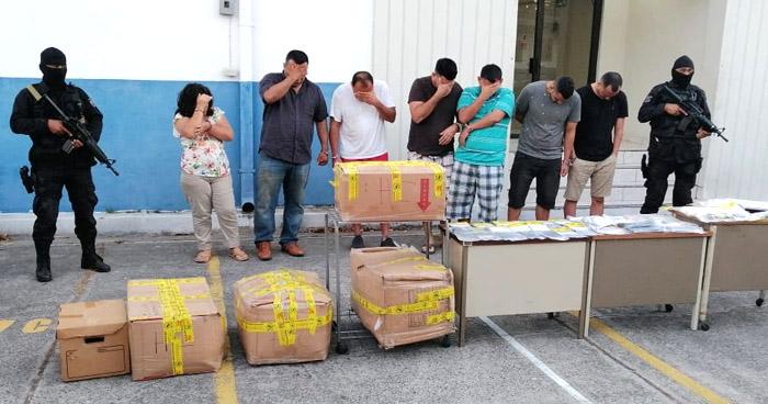 Capturados cuando realizaban una transacción de droga en San Miguel