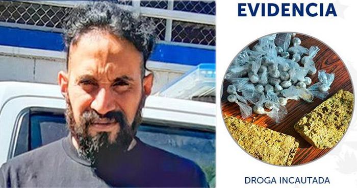 Capturados por tráfico de drogas y usurpación de vivienda