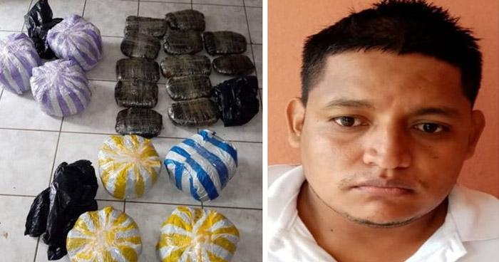 Prisión preventiva para traficante de droga que operaba en Ahuachapán