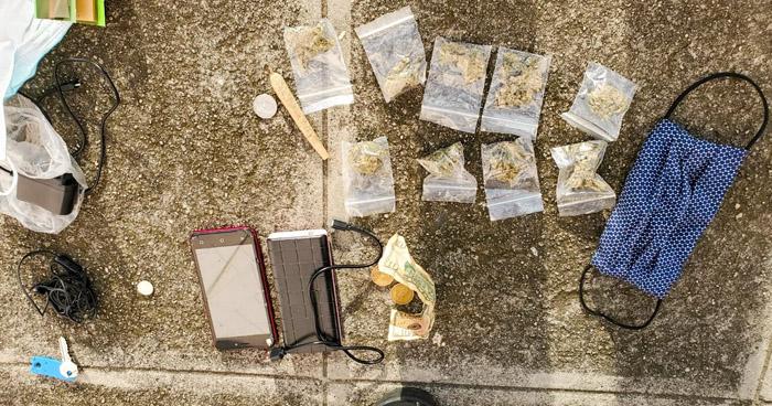 Incautan drogas en procedimientos en Santa Tecla y Santa Ana
