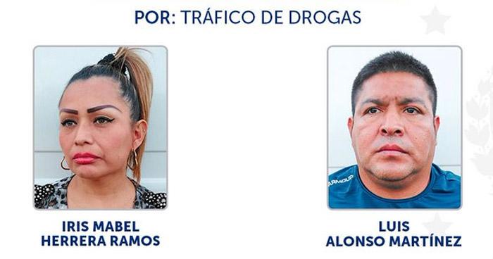 Capturados cuando transportaban $25 Mil en droga
