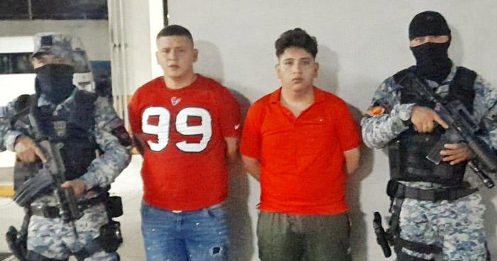 Capturados cuando transportaban droga en comunidad de San Salvador