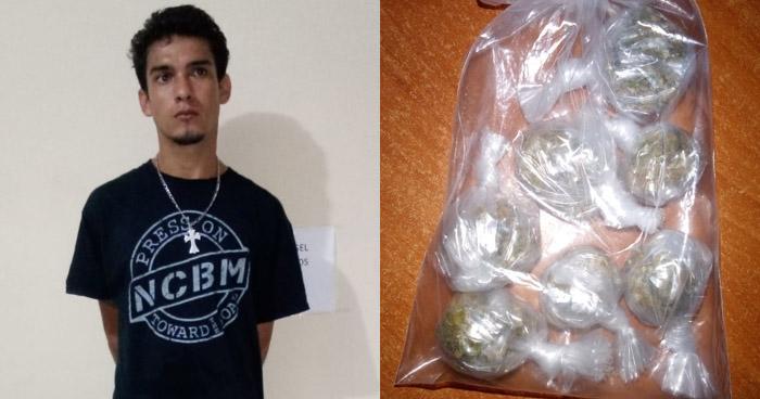 Capturan a distribuidor de drogas que operaba en Sonsonate
