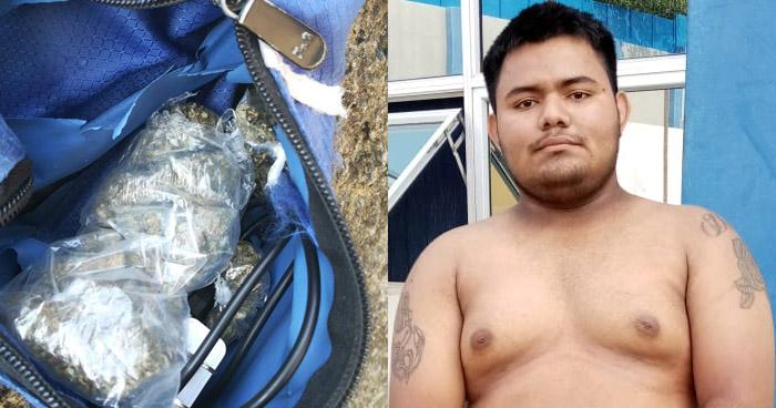 Capturado por tráfico de drogas en Zacatecoluca