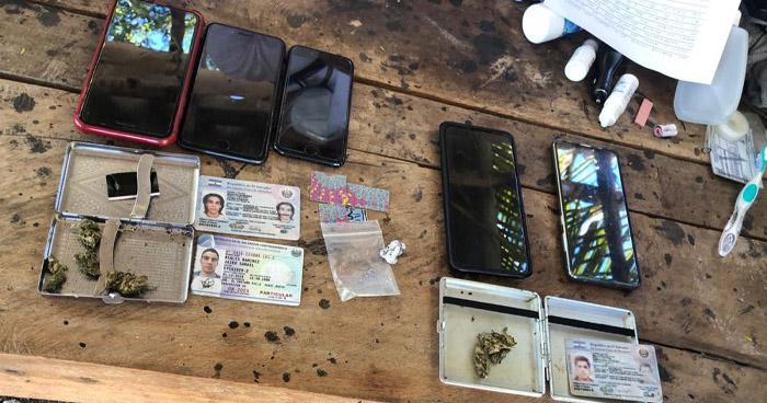 Salvadoreños provenientes de Guatemala transportaban droga y efectivo