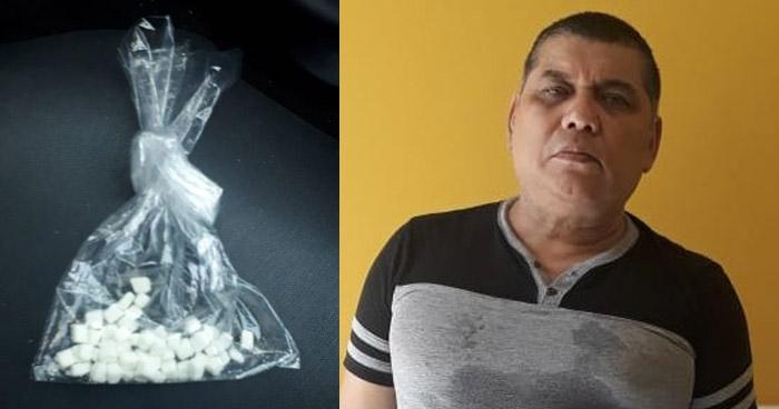 Incautan 48 porciones de Crack a empleado de la PDDH en San Salvador