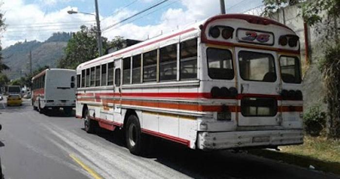 Analizan implementar un nuevo servicio de transporte masivo desde Soyapango hasta Santa Tecla
