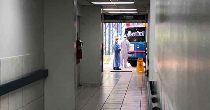 Trasladan al Hospital Amatepec de Soyapango a pacientes con COVID-19