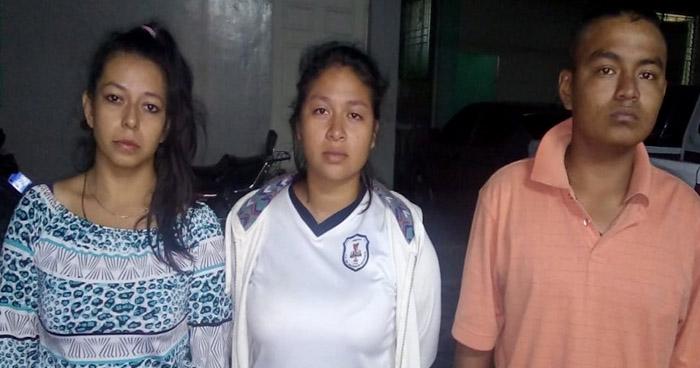 Limitaban la circulación de personas en San José Villanueva, La Libertad