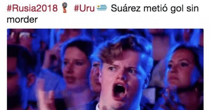 Uruguay golea, avanza y estos son los MEMES que dejo su triunfo ante Rusia