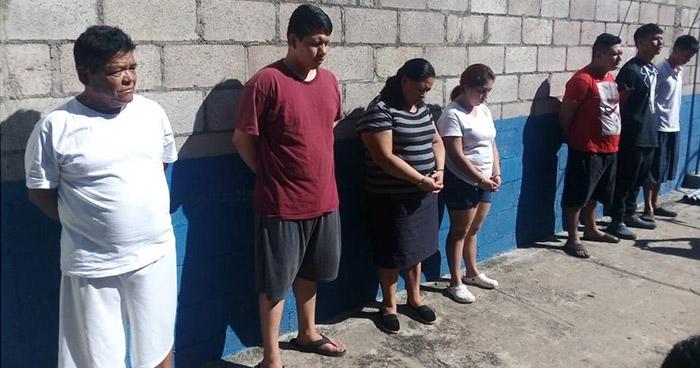 Capturan a estafadores, violadores y pandilleros que operaban en diferentes puntos del país