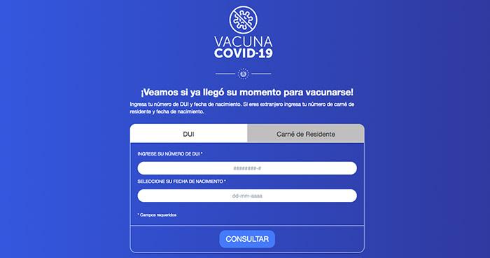 Este es el sitio web para agendar cita de vacunación contra COVID-19