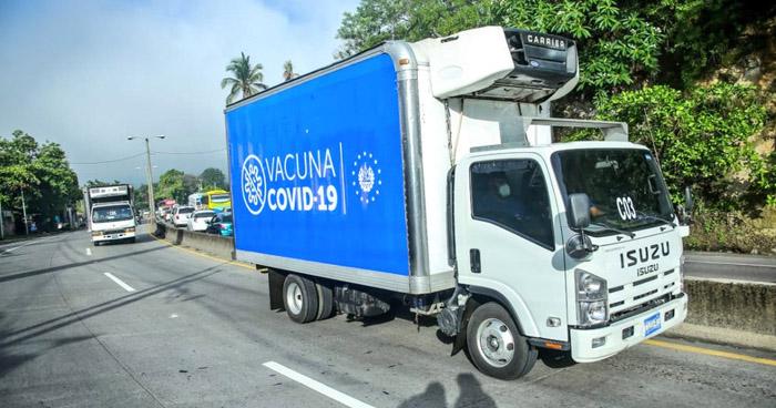 Envían segundo cargamento de vacunas antiCOVID-19 a Honduras