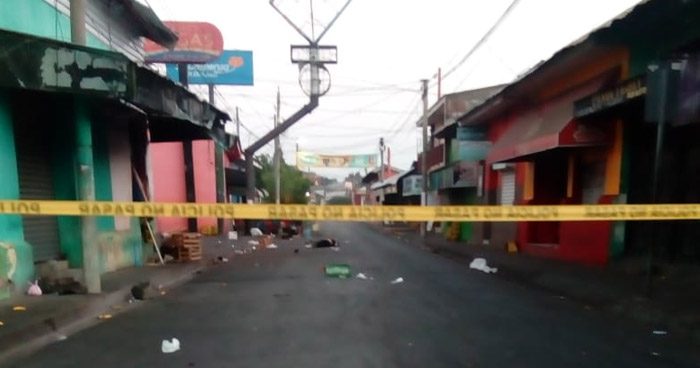 Vendedor hondureño asesinado en el centro de San Miguel