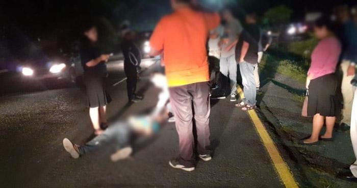 Motorista de autobús atropella y mata a vendedor en San Martín