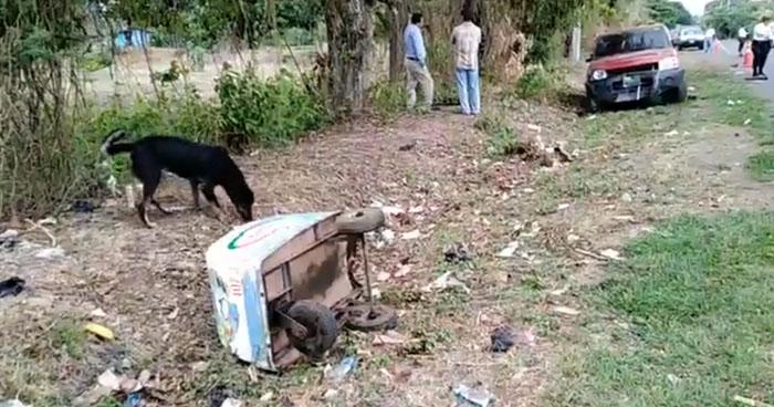 Vendedor de paletas muere al ser atropellado en carretera de Usulután