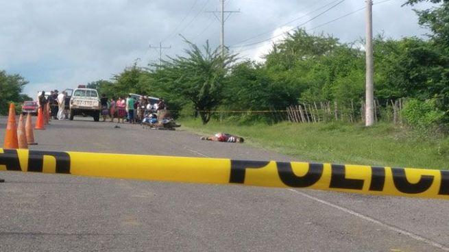 Matan a un panadero sobre la carretera Panamericana en Pasaquína, La Unión