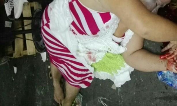 Vendedora asesinada por pandilleros en pleno centro de San Salvador