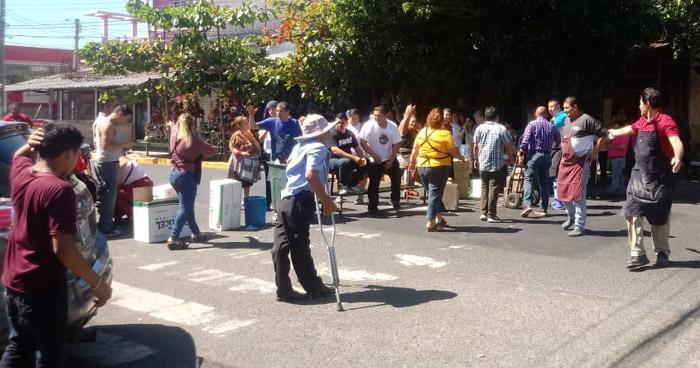 Vendedores cierran Mercado San Miguelito en protesta por supuesto incremento de impuestos