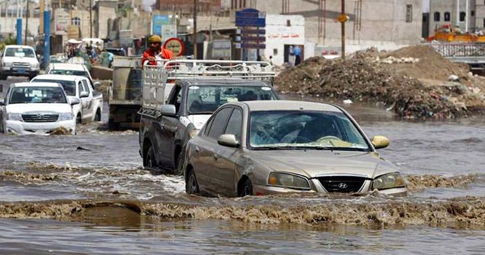 Mueren 14 personas en inundaciones en el sur de Yemen