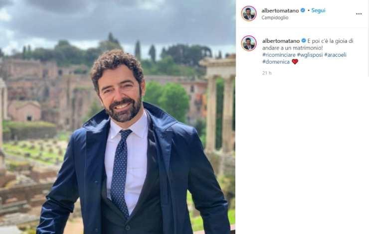 Alberto Matano matrimonio - Solonotizie24