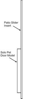 Cat Door For Sliding Glass Patio Door