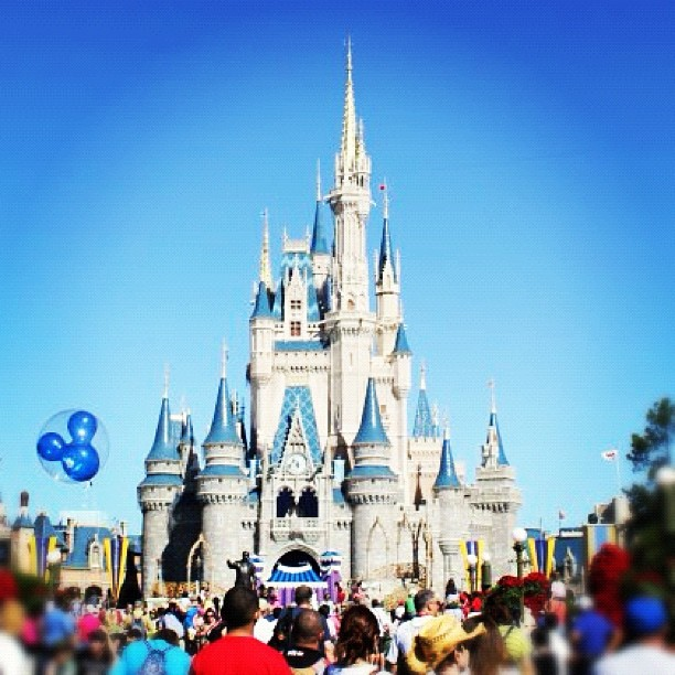 Orlando Magic Kingdom Instagram photo Copyright Solopress 2012