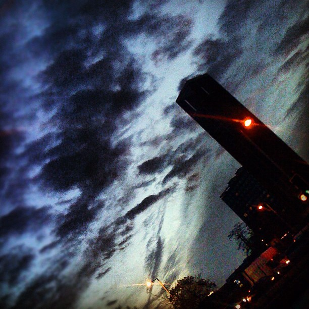 Stormy Night Instagram photo Copyright Solopress 2012