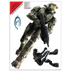 Solopress Design Insight Halo 3 video game giant wall sticker