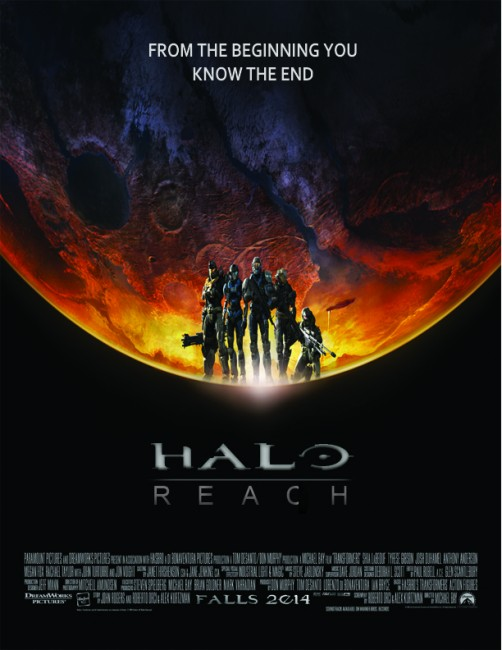 Solopress Design Insight Halo Reach movie poster