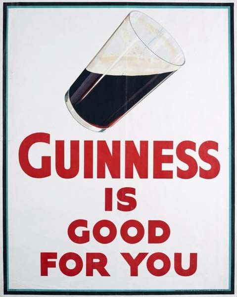 Guinness Is Good For You poster printing