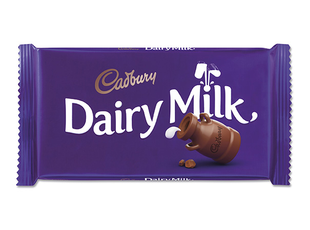 Cadbury Dairy Milk new packaging design