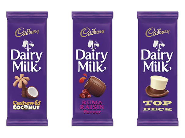 Cadbury Dairy Milk new packaging