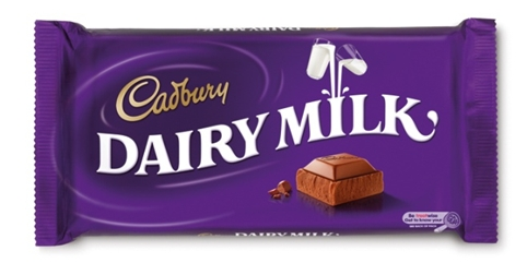 Cadbury Dairy Milk old packaging design