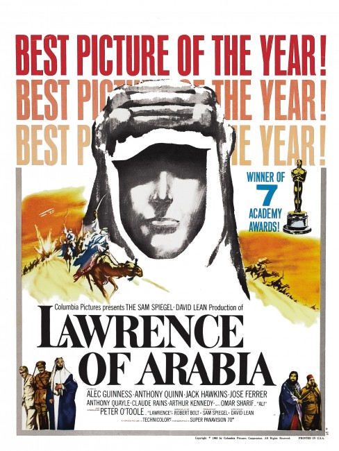 Lawrence of Arabia movie poster 4