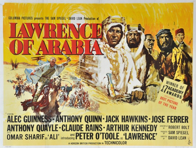 Lawrence of Arabia movie poster 7