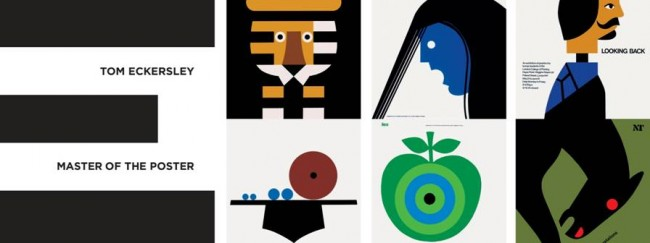 college of poster designs from famous graphic designers Tom Eckersley