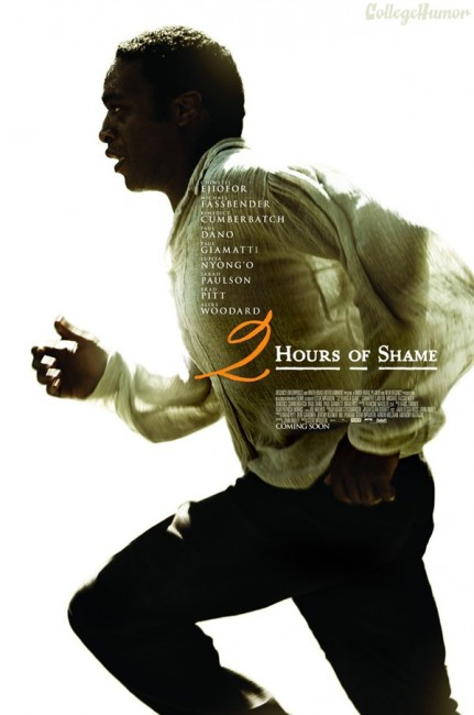 12 Years a Slave alternative movie posters