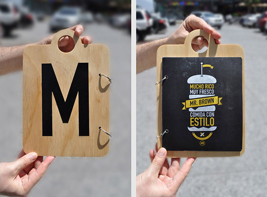 10 Inspiring Take-away & Restaurant Menu Design Ideas