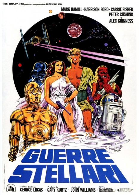 Star Wars movie poster Italy 1977