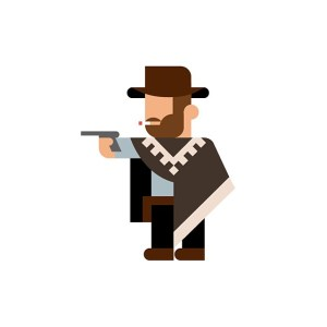 32 memorable pop culture characters go minimalist solopress for Going minimalist