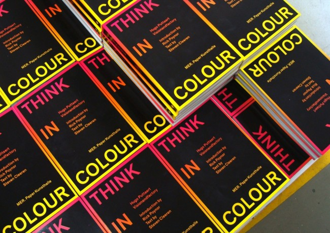 Think in Colour book covers